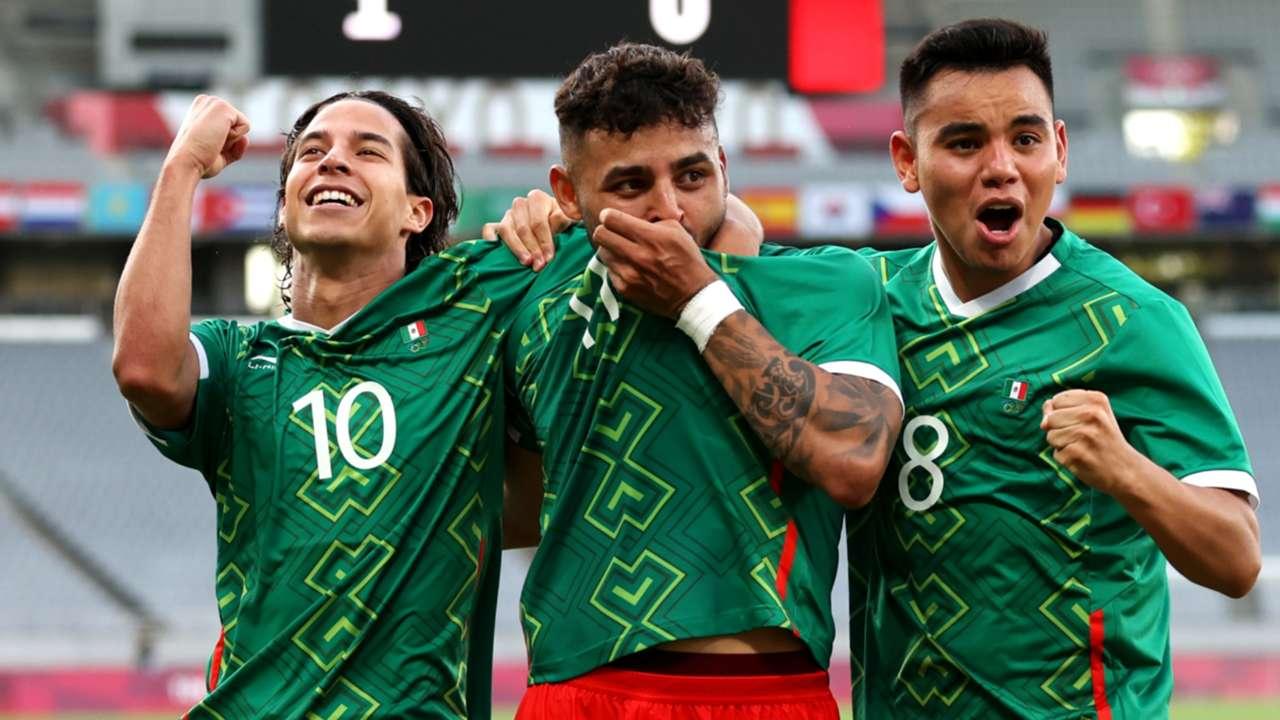 Mexico celebration - 2021 Tokyo Olympics