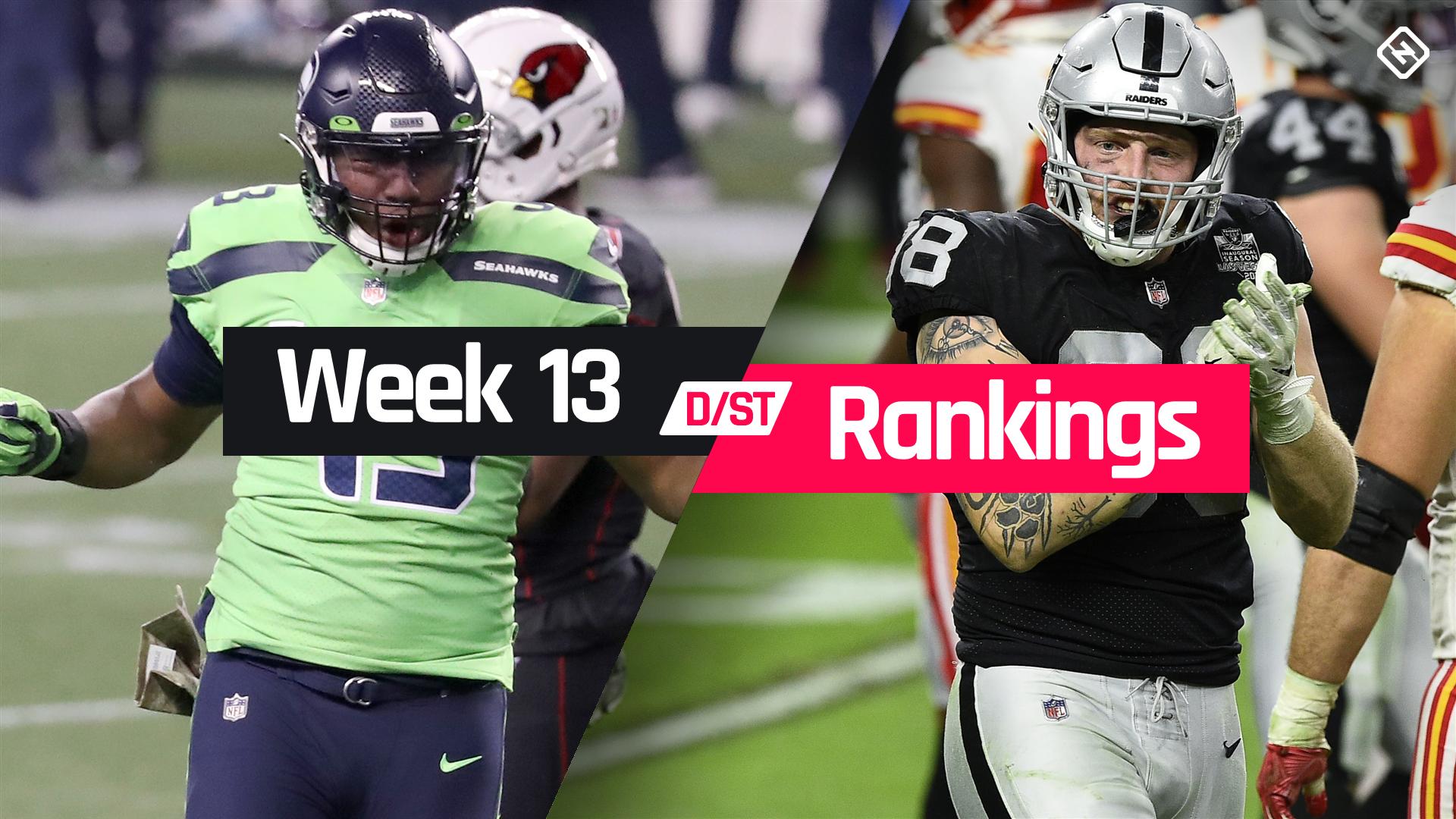 Fantasy Football Rankings Week 13 Defense Sporting News