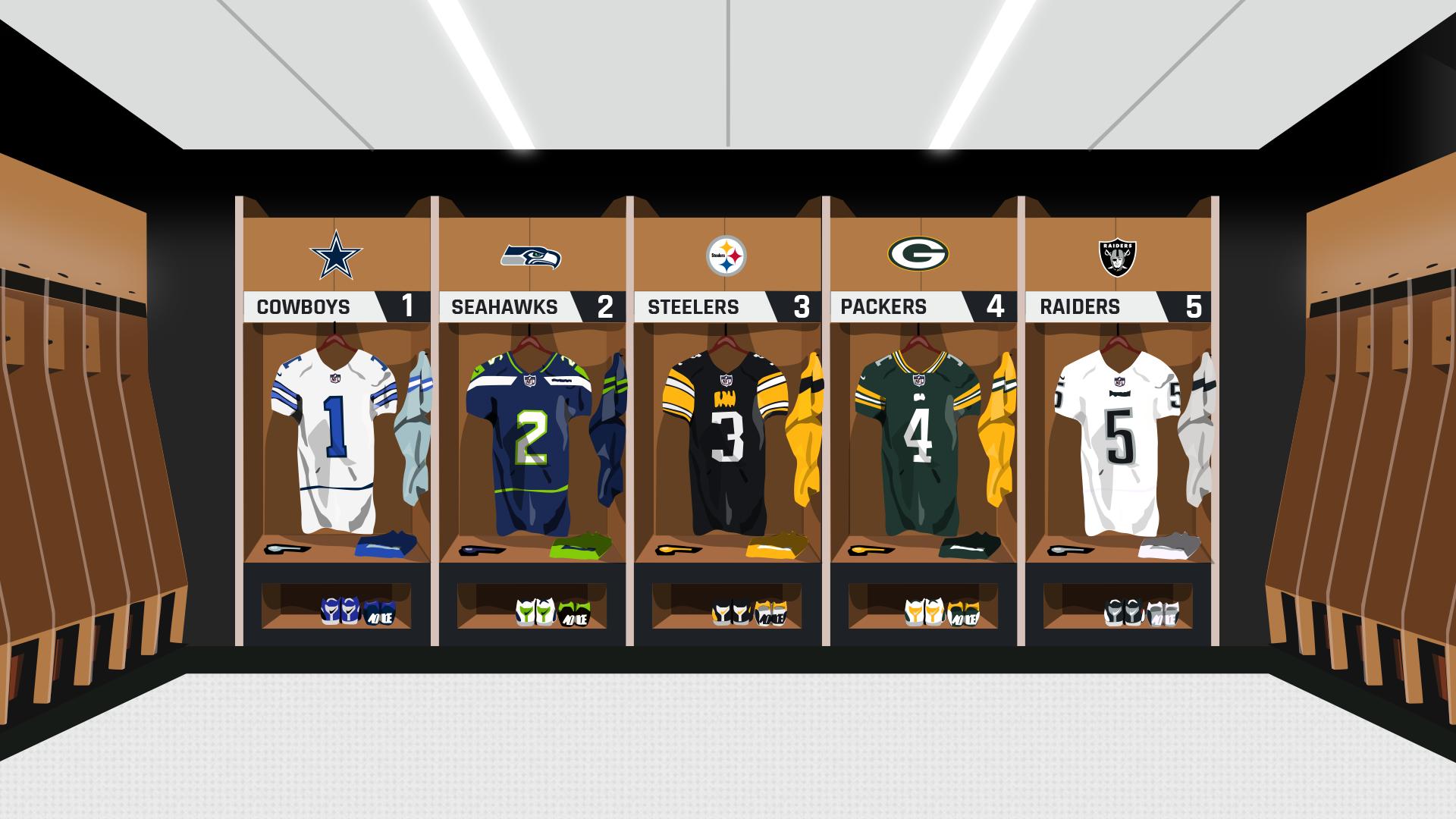 Clasificación de uniformes de la NFL: los Buccaneers suben, los Falcons caen con nuevas miradas para 2020 6