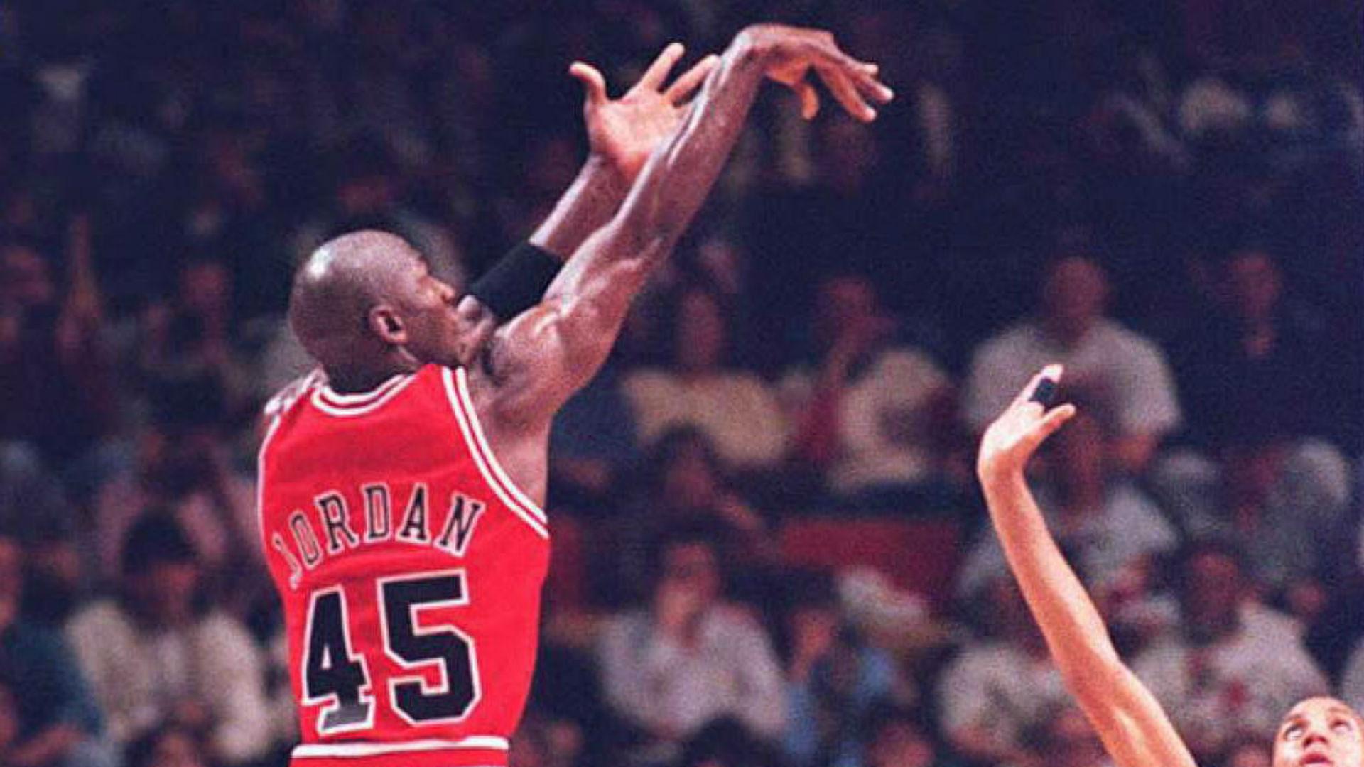 michael jordan 45 jersey