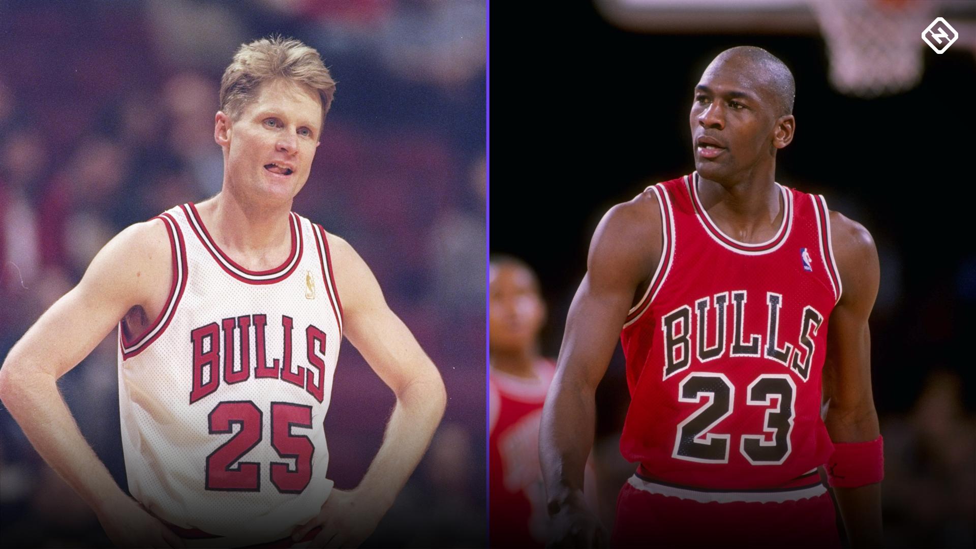 Steve Kerr explains how Michael Jordan punching him in the face helped their relationship 1