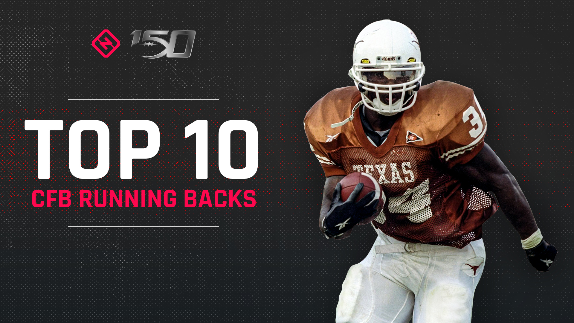 Cfb 150 Top 10 Running Backs In College Football History