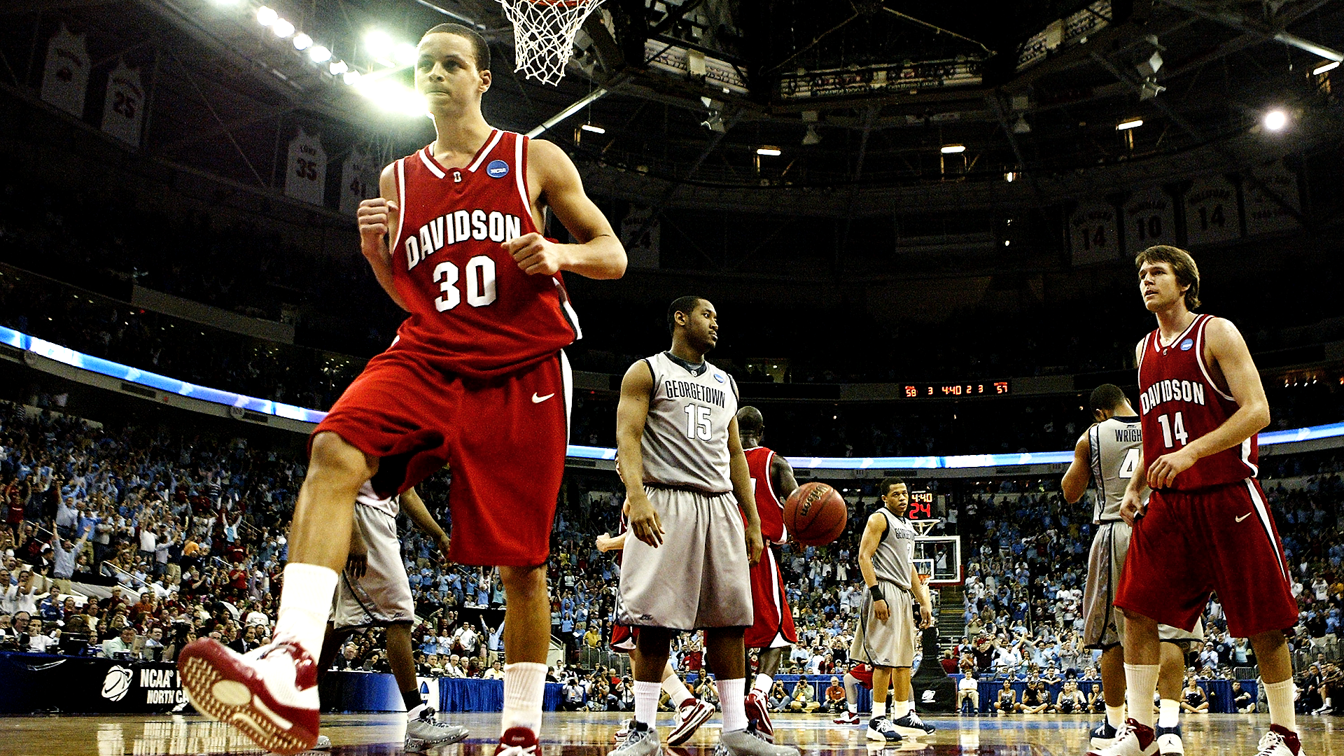 Missing March Madness: la grandeza de Steph Curry se muestra en el regreso de Davidson contra Georgetown 13