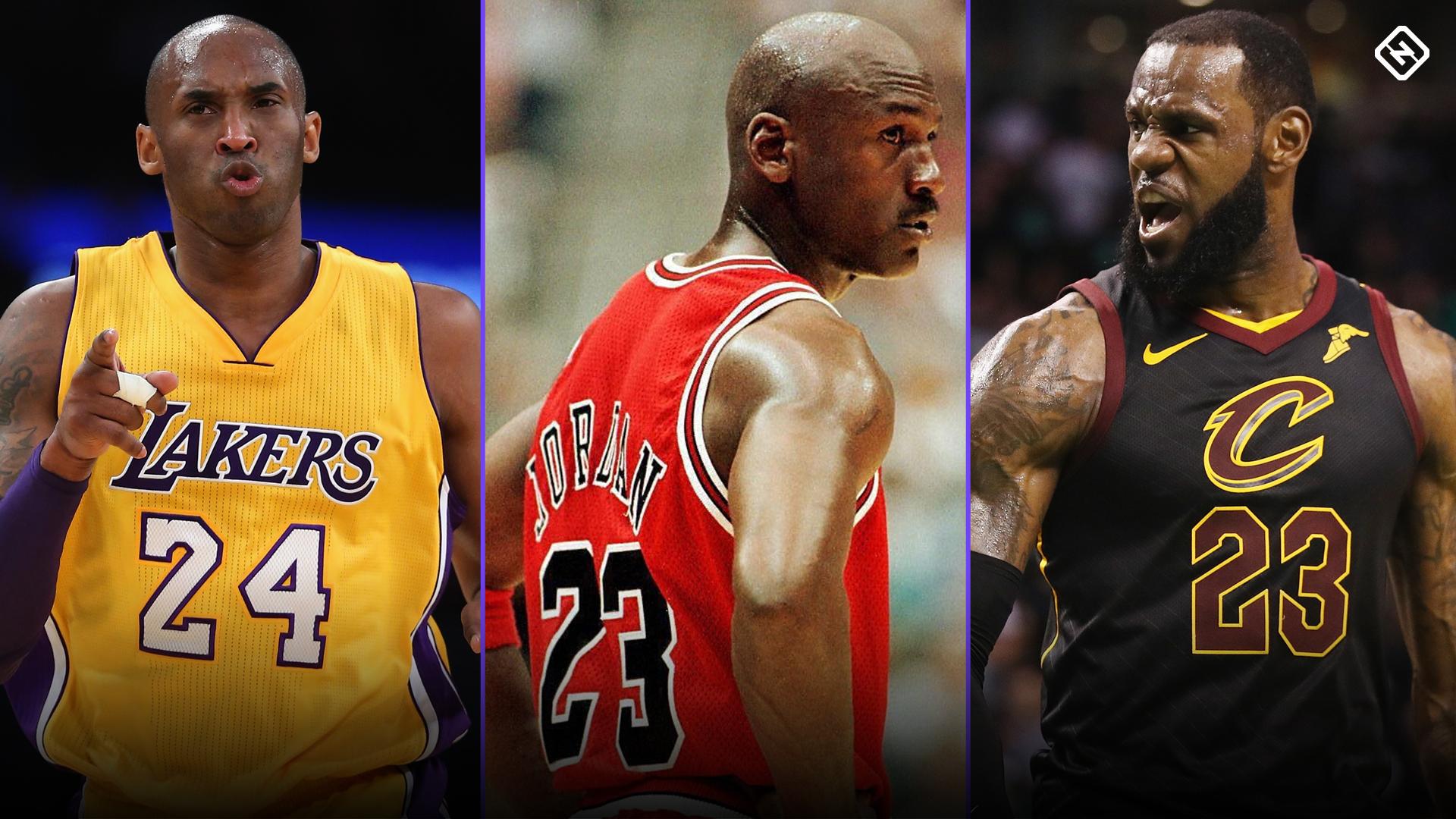 Kobe Bryant Jumping Into Lebron James Michael Jordan Debate Is Wonderfully Kobe Move Sporting News