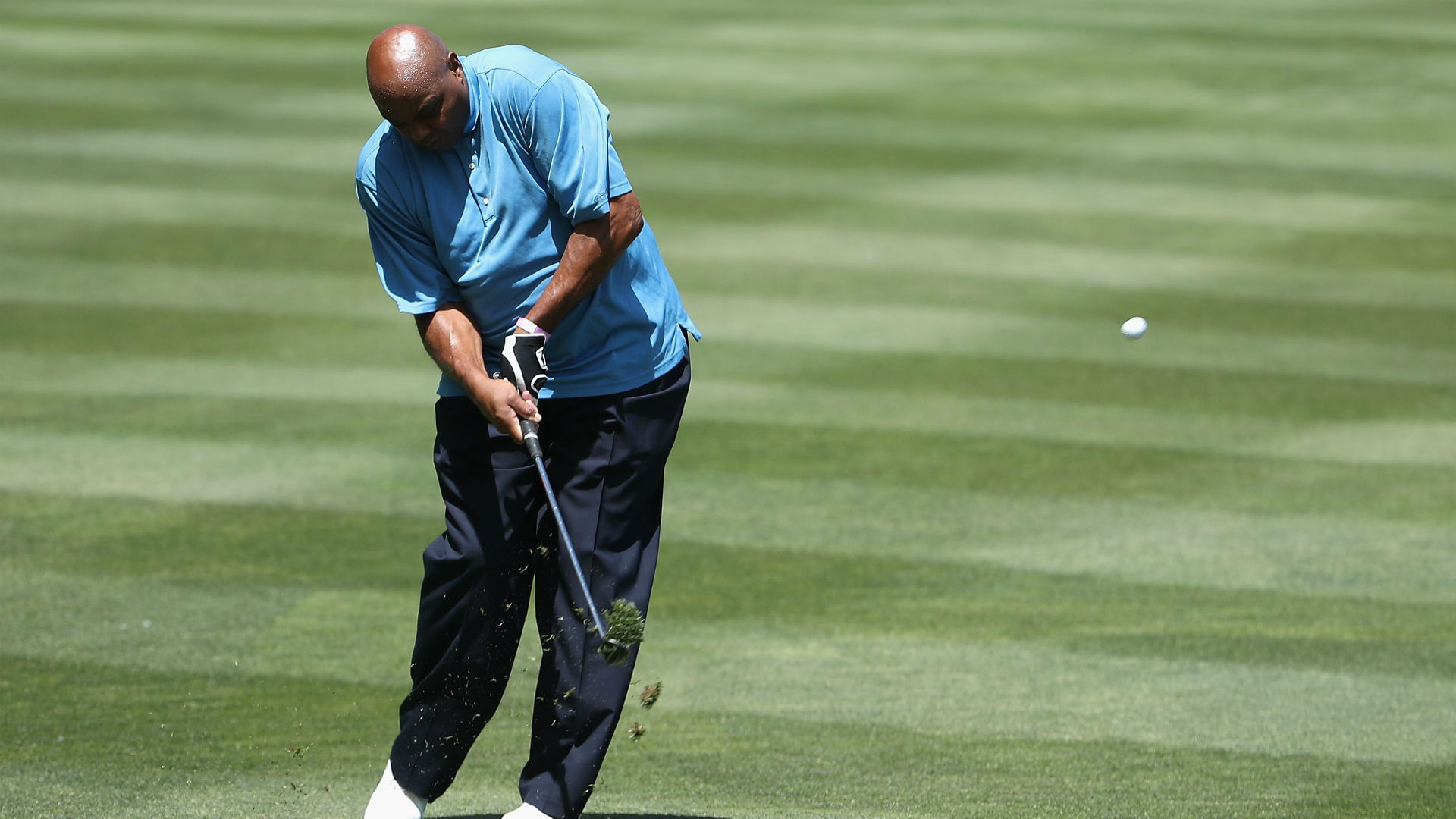 Charles Barkley's golf swing is the reason he's playing on different tees at The Match 3