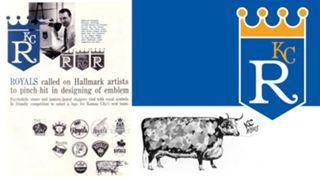 1969 Royals logos