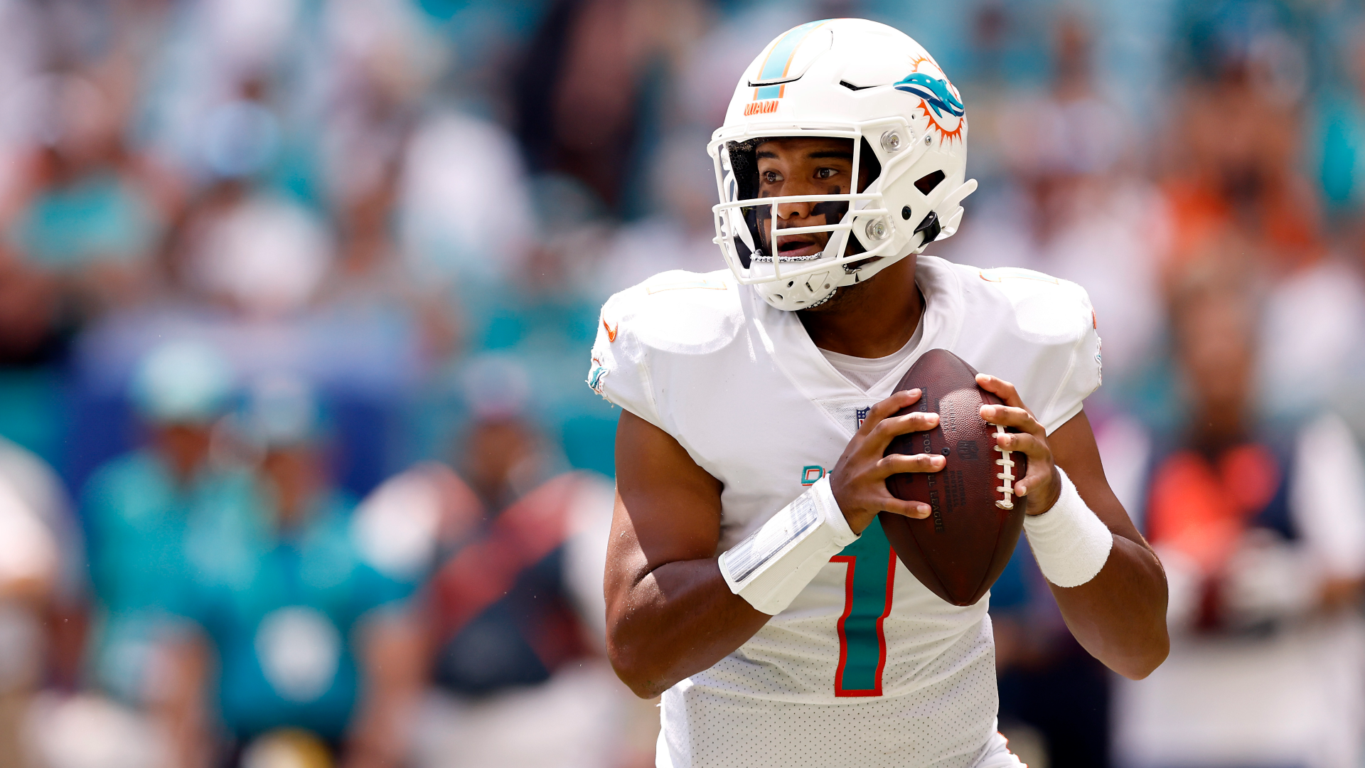 Is Tua Tagovailoa playing Sunday? Brian Flores reveals status of Dolphins' QB before London game