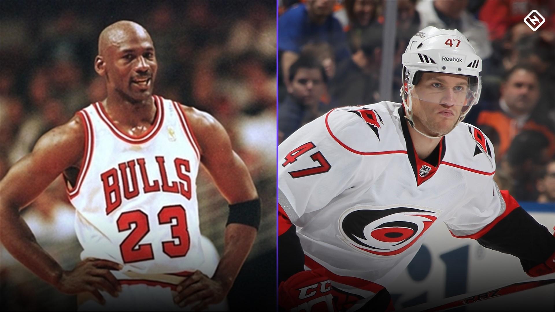 Meet Michal Jordan, the hockey player who can't shake the Michael Jordan mix-ups 1