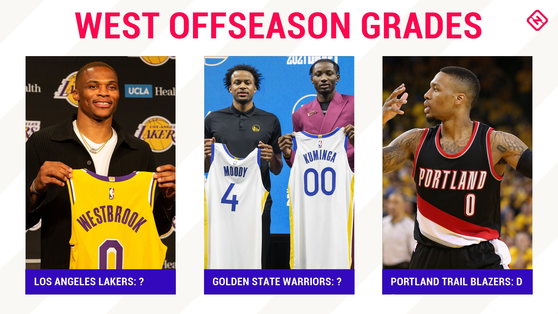 Did the Lakers overreact? Are we sure the Warriors are back? NBA offseason grades for the Western Conference...