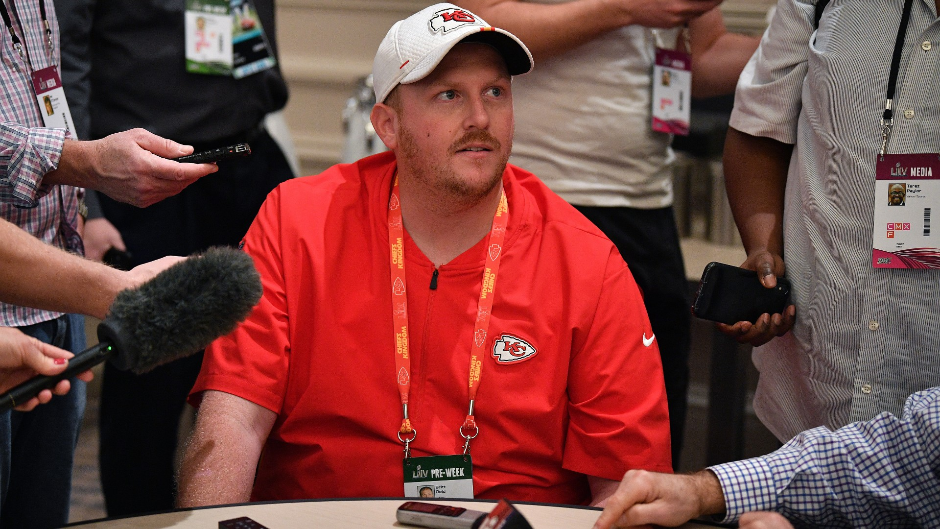 Chiefs' Britt Reid won't coach in Super Bowl 55, reports say; police investigating assistant's role in KC vehicle crash