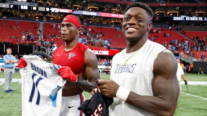 Julio Jones trade grades: Titans hit pricey home run ...