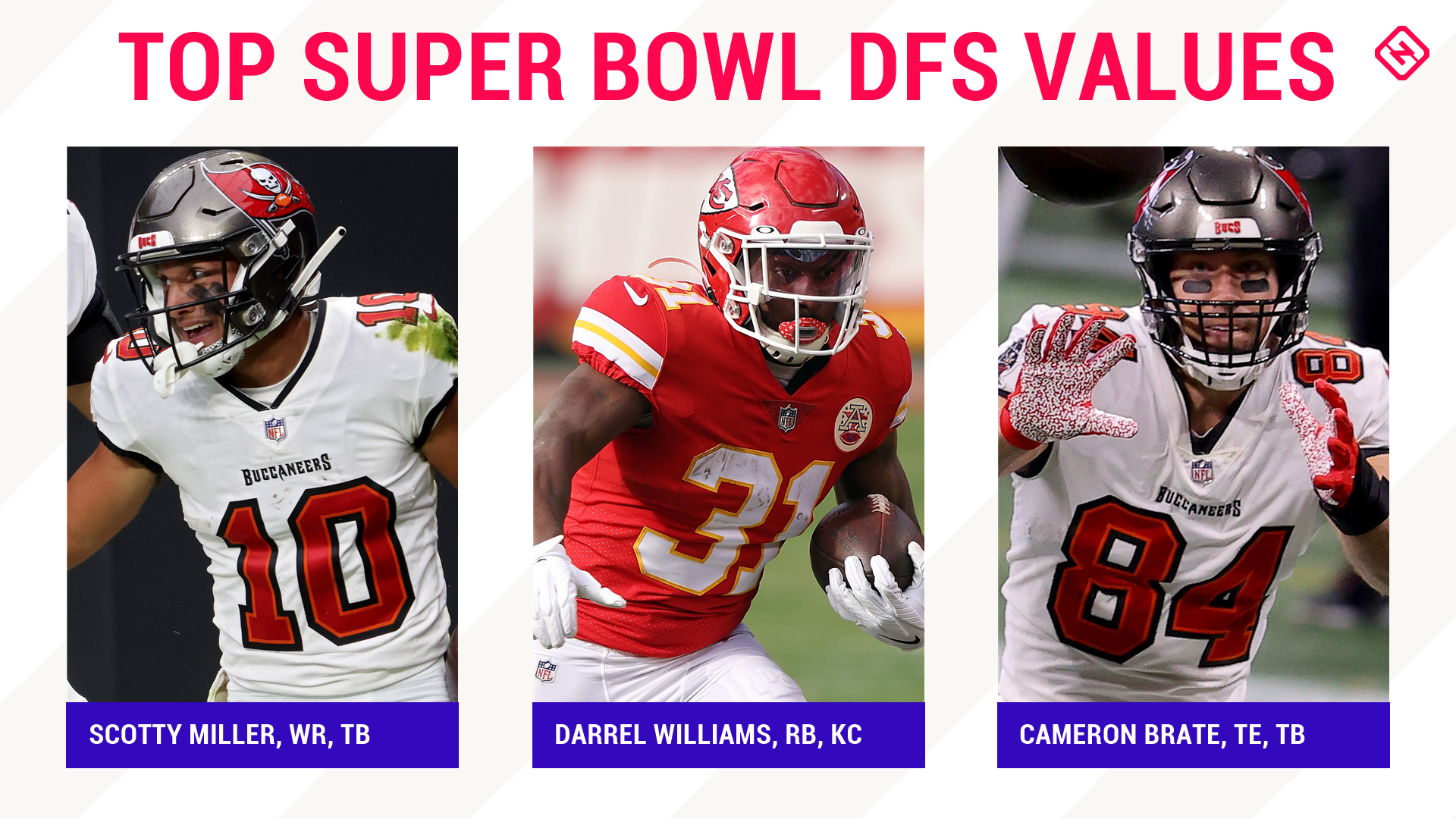 Super Bowl Nfl Dfs Picks Best Picks Sleepers For Draftkings Fanduel Single Game Daily Fantasy Football Lineups Sporting News