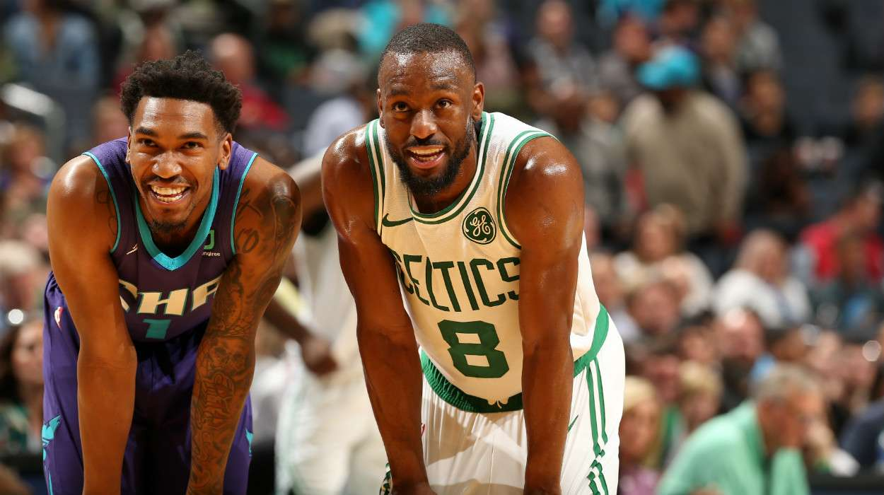 Malik Monk Charlotte Hornets Kemba Walker Boston Celtics