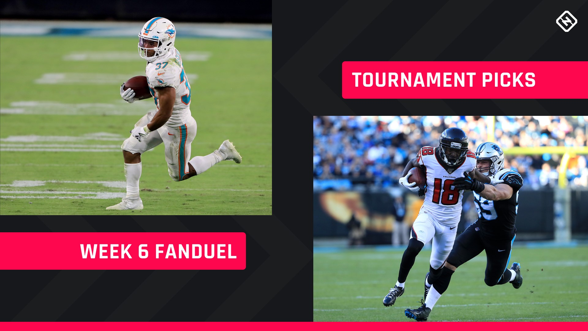 Week 6 FanDuel Picks: NFL DFS lineup advice for daily fantasy football GPP tournaments