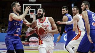 Ricky Rubio Spain against Italy