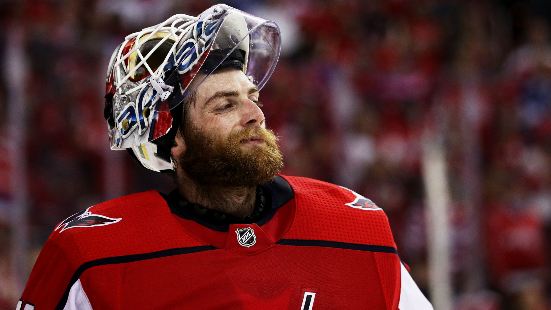 Nhl Playoffs 2018 Capitals Braden Holtby Makes 24 Saves Records First Shutout Of Season In Game 6 Win Sporting News