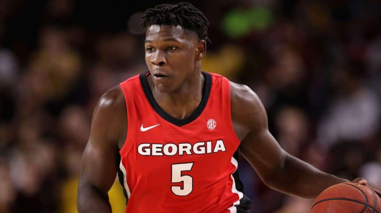 Anthony Edwards Georgia Bulldogs