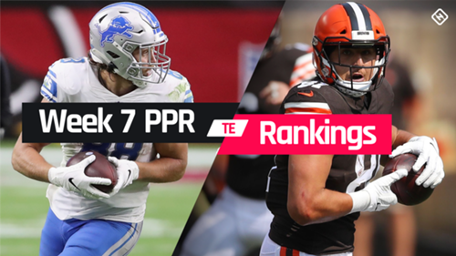 Week 7 Fantasy Te Ppr Rankings Must Starts Sleepers Potential Busts At Tight End Sporting News