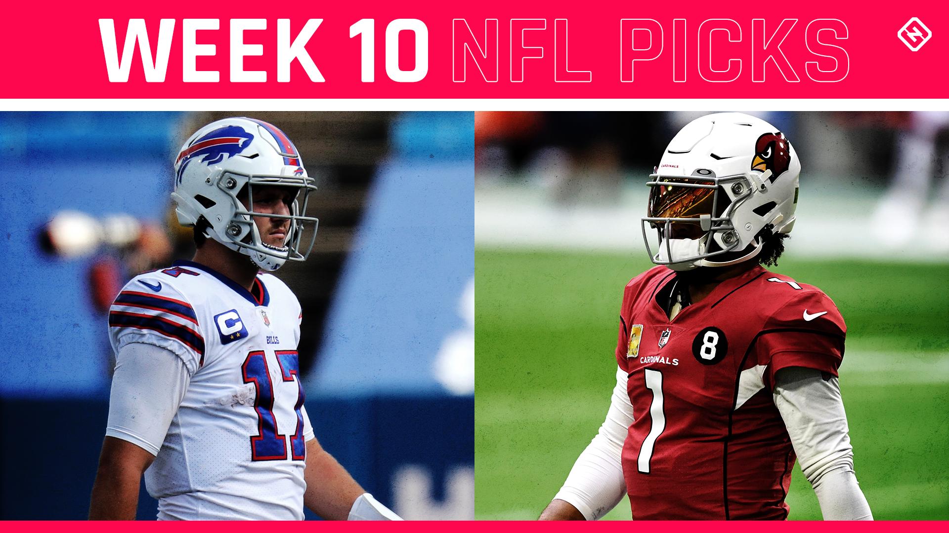 NFL picks, predictions against spread Week 10: Bills clip Cardinals; Saints rip 49ers; Ravens nip Patriots