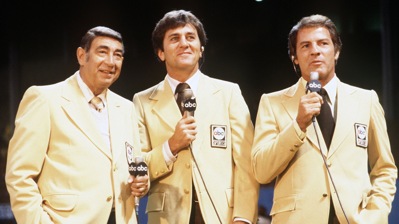 The perfect fit': Glory days of 'Monday Night Football' with Cosell,  Meredith and Gifford   Sporting News