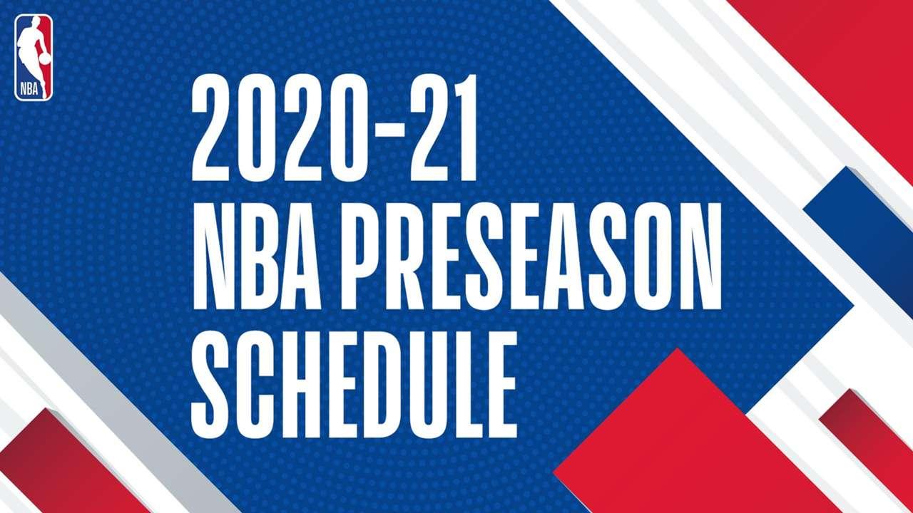 2020 NBA Preseason schedule