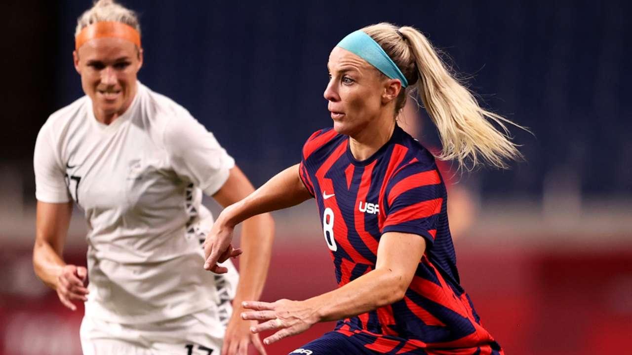 Julie Ertz - USA - 2021 Olympics
