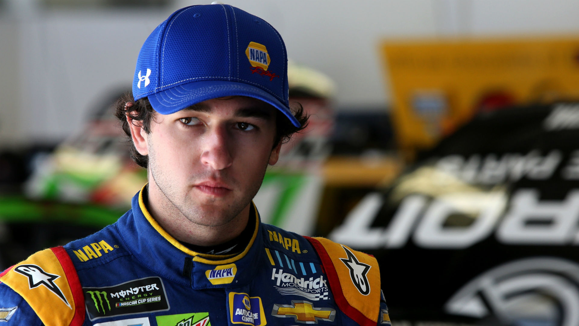Chase Elliott says Kyle Busch was 'deserving' of middle finger at Toyota 500, has 'no regrets'