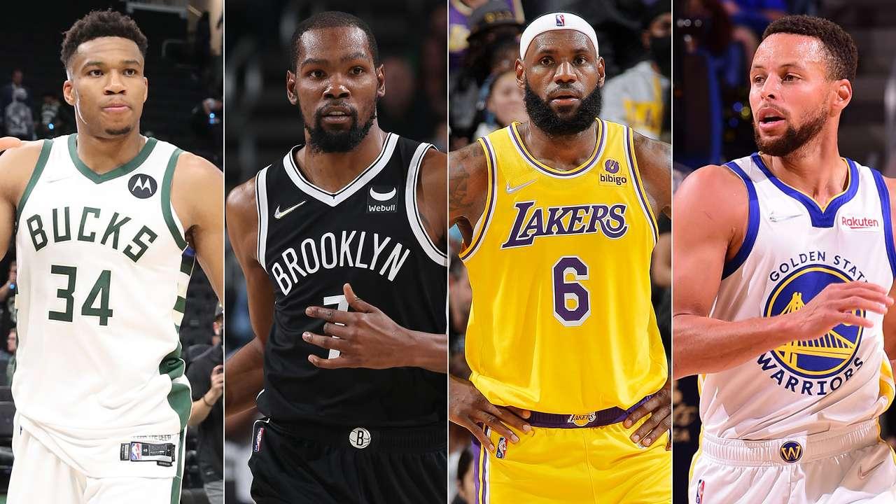 NBA 75th Anniversary Team Active Players