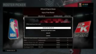 NBA 2K16 how to get roster with rookies
