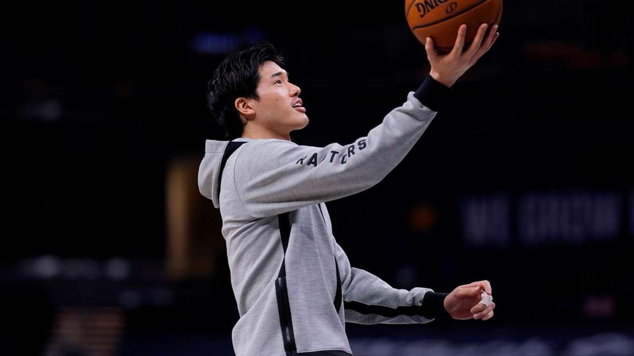 渡邊雄太、シーズン前半戦を終了