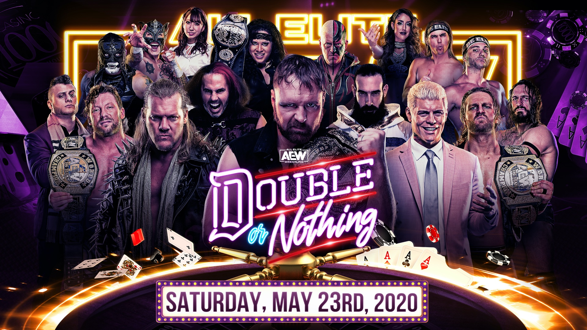 AEW Double or Nothing date, start time, matches, PPV cost ...