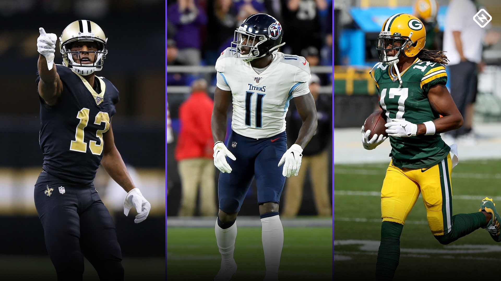 Fantasy Injury Updates: Michael Thomas, A.J. Brown, Davante Adams, more affect Week 3 WR rankings