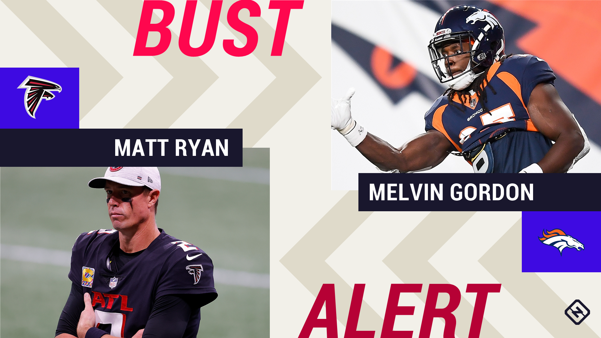 Week 6 Fantasy Busts: Matt Ryan, Melvin Gordon among risky 'starts'
