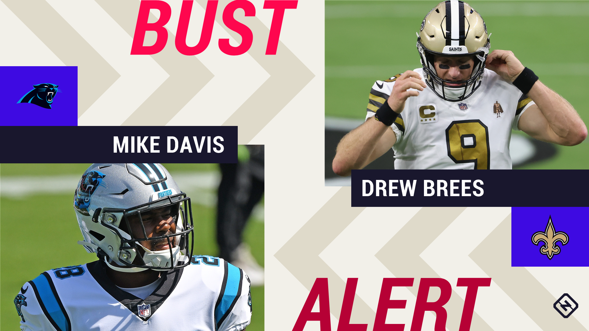 Week 3 Fantasy Busts: Mike Davis, Drew Brees among risky starts in tough matchups - sporting news
