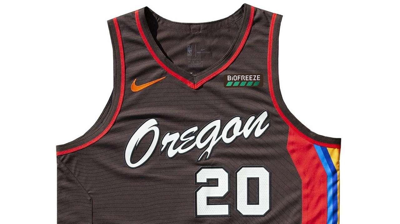 The Portland Trail Blazers, Oregon-themed City Edition uniform
