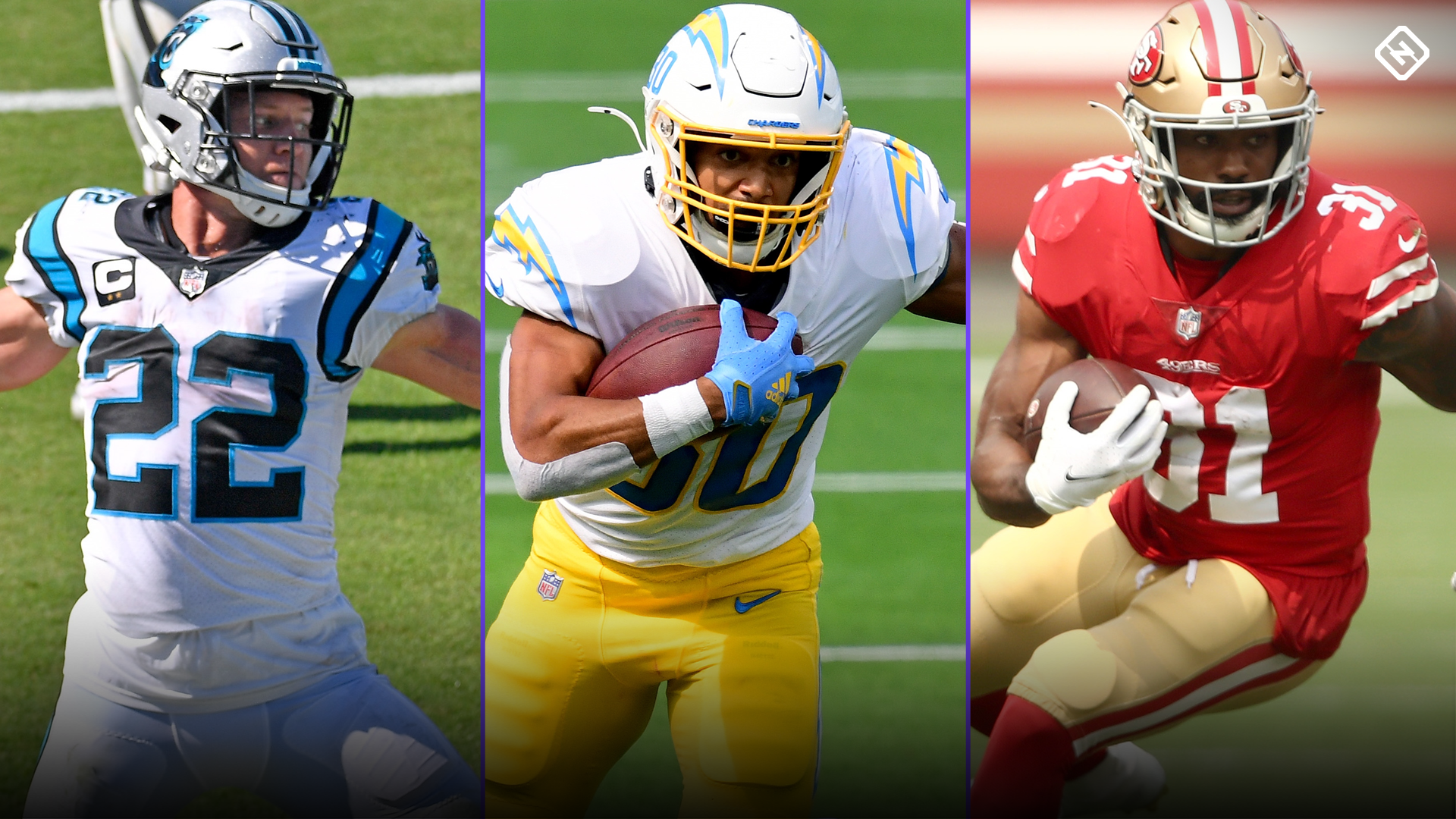 Fantasy Injury Updates: Christian McCaffrey, Austin Ekeler, Raheem Mostert affecting Week 12 RB rankings