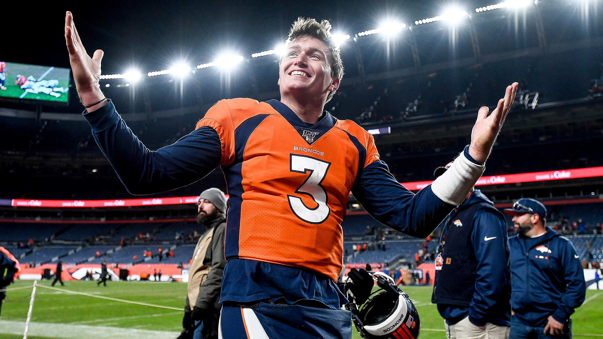 Broncos' Courtland Sutton gives Drew Lock a vote of confidence: QB is' on a different level '
