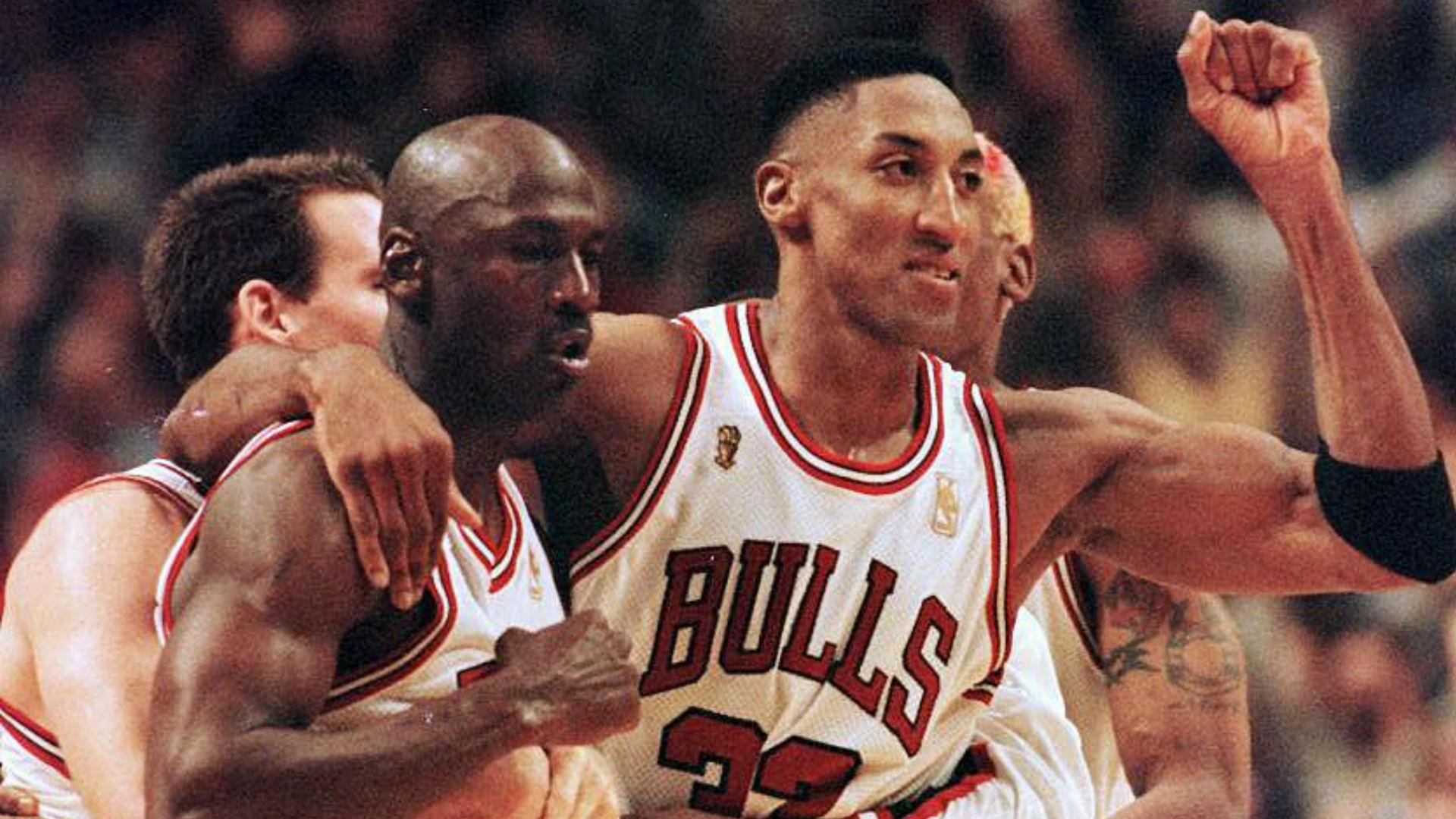 Clasificación de los compañeros de equipo del campeonato de los Bulls de Michael Jordan, desde Jack Haley hasta Scottie Pippen 15