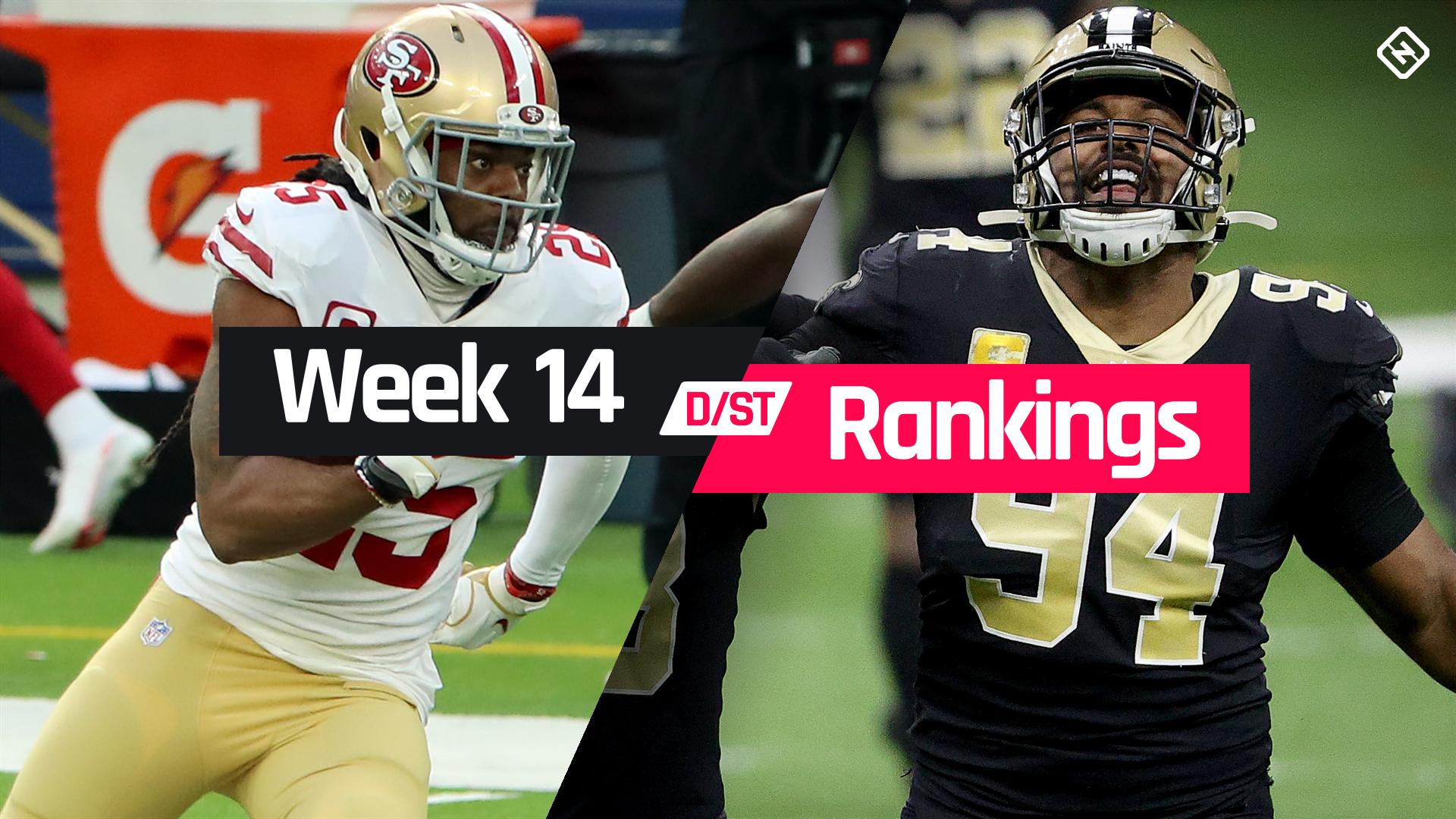 Fantasy Football Rankings Week 14 Defense Sporting News
