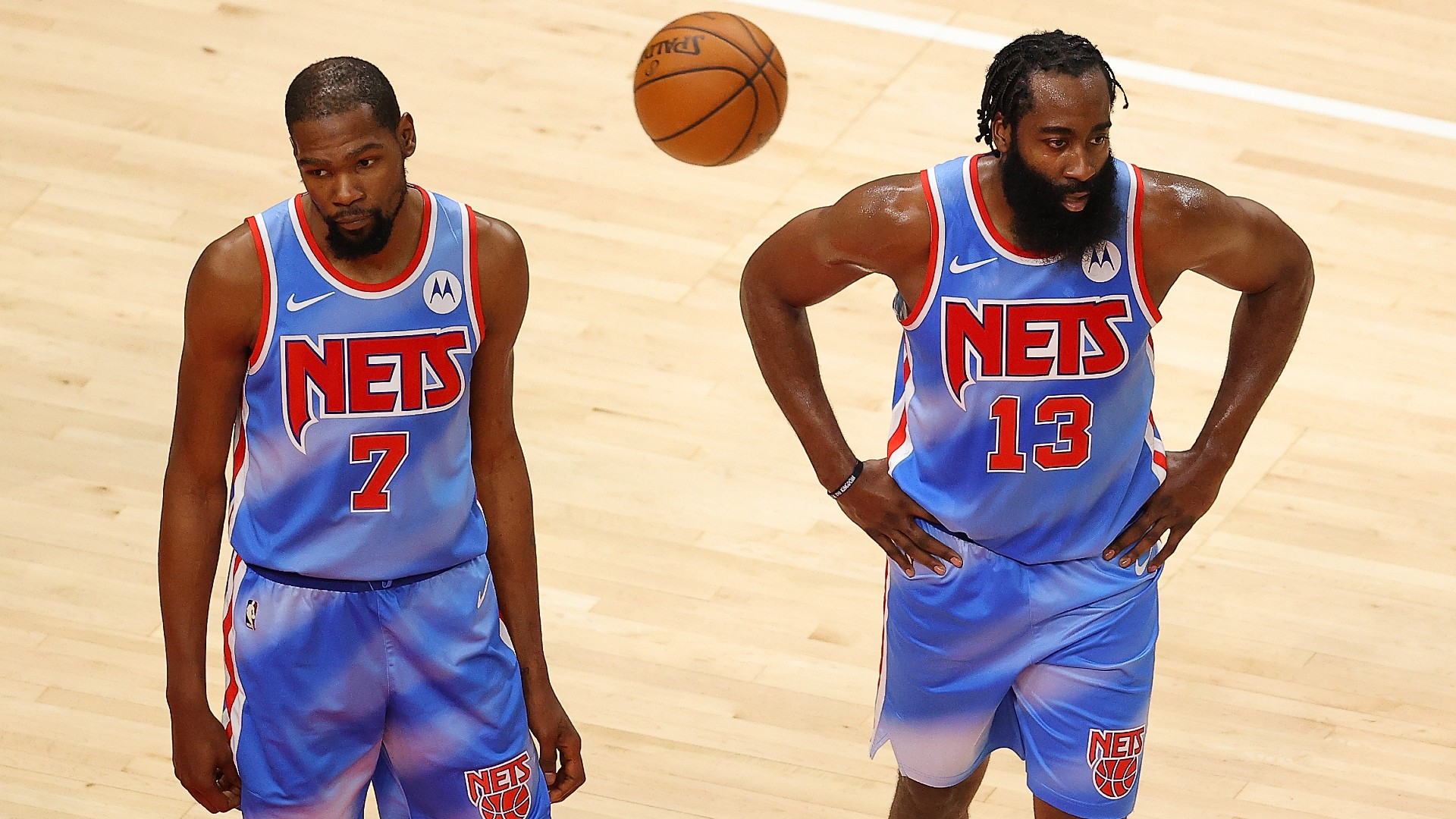 Why are they playing Kevin Durant in the James Harden Nets vs. Hornets game?