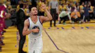 NBA 2K16 Stephen Curry