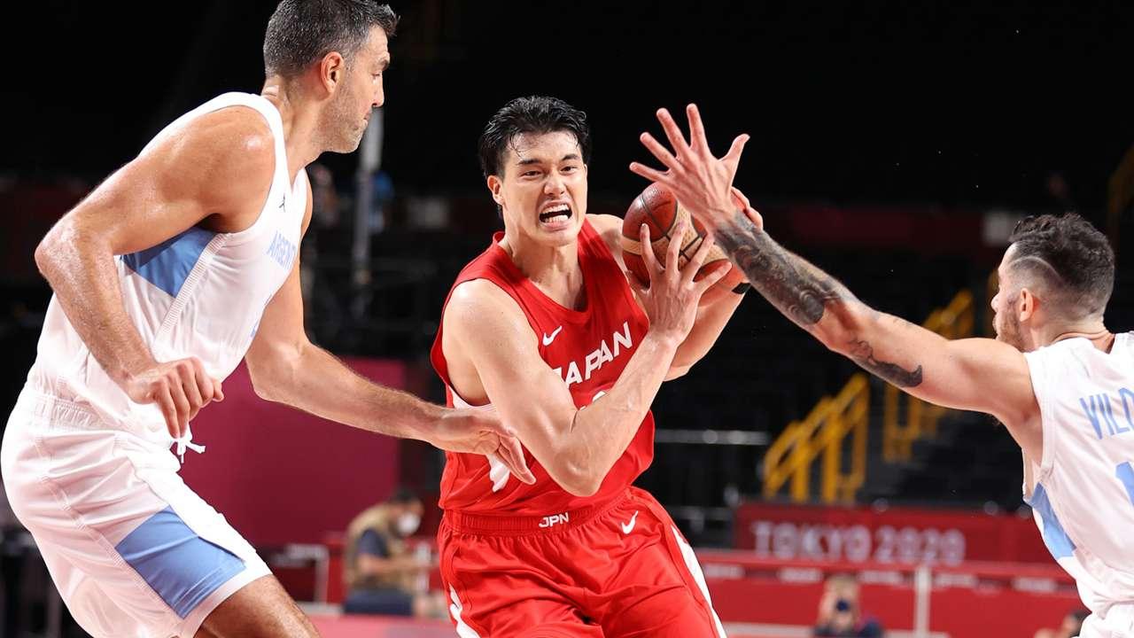 渡邊雄太 Yuta Watanabe Japan Basketball
