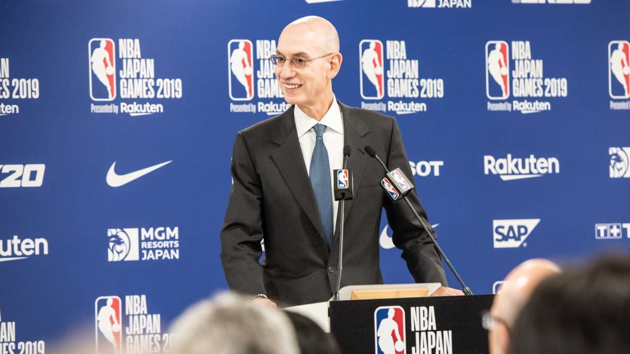 Adam Silver NBA Commisioner
