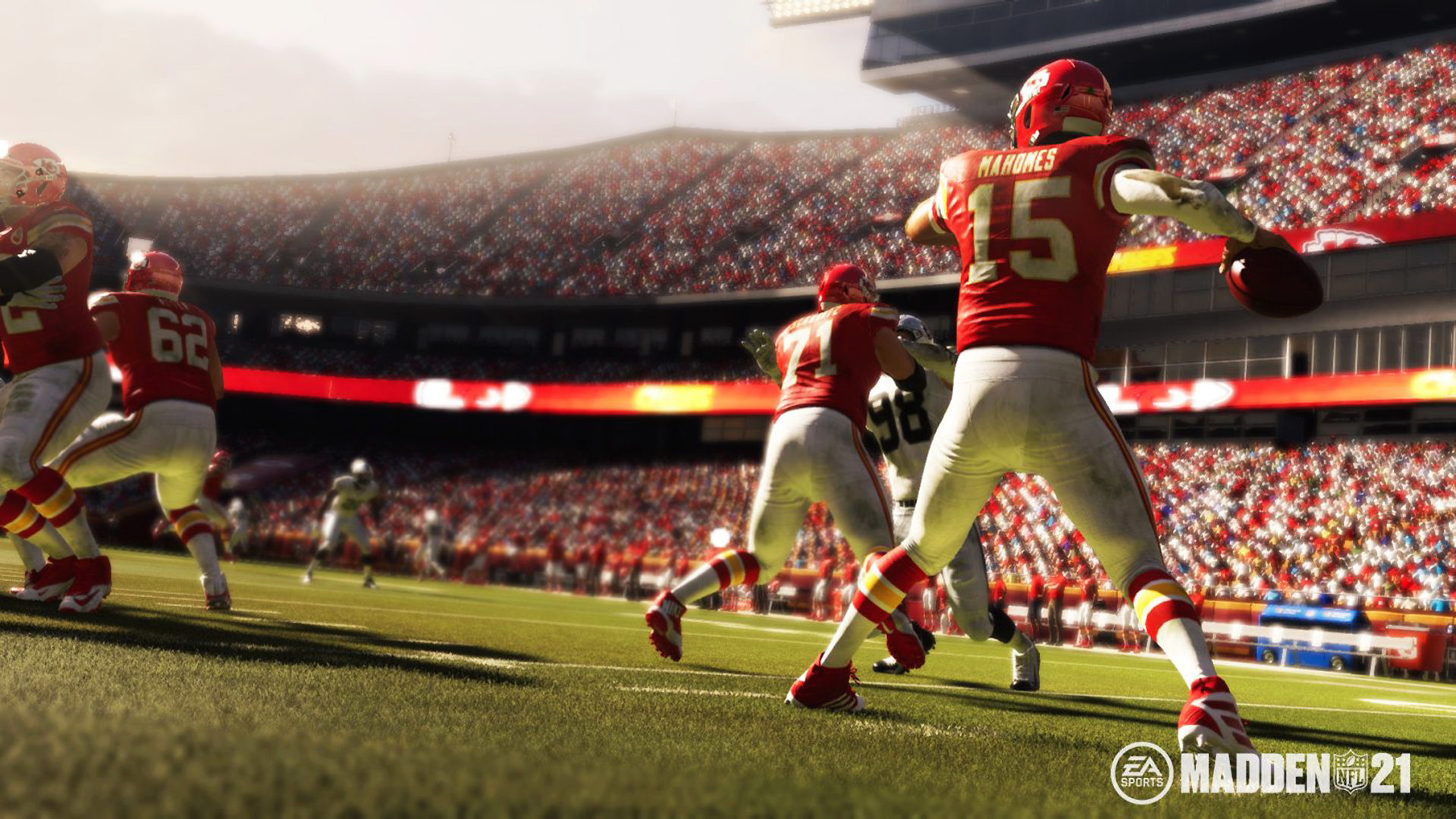 The Madden 22 cover athlete may have been leaked by GameStop