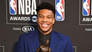 2019 NBA Awards MVP Giannis Antetokounmpo