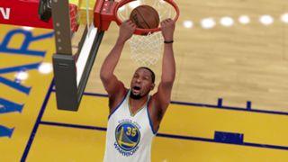 NBA 2K16 Kevin Durant Golden State Warriors