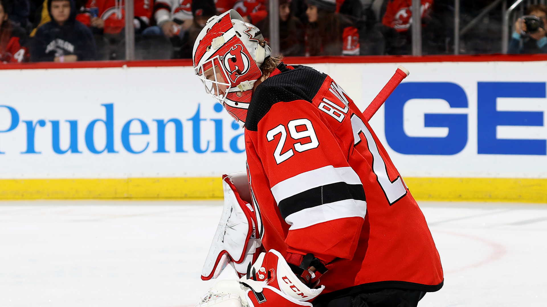 Devils' Mackenzie Blackwood hoping to re-sign: 'I would love to play here long-term' 1
