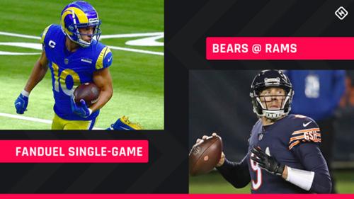 Monday Night Football Fanduel Picks Nfl Dfs Lineup Advice For Week 7 Bears Rams Single Game Tournaments Sporting News