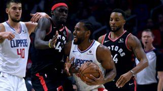 Kawhi Leonard LA Clippers Pascal Siakam Toronto Raptors