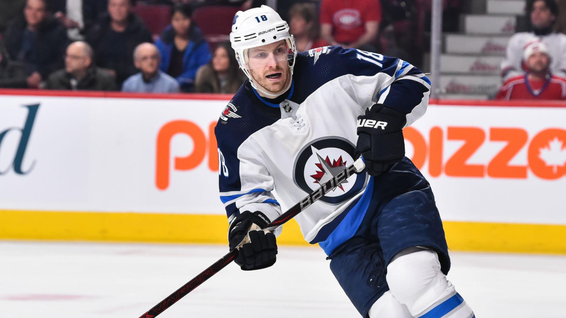 Bryan Little Injury Update Winnipeg Jets Forward In Good Spirits After Taking Puck To Head Sporting News Canada